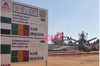 Niger : Pas dÂ'accord entre Areva et lÂ'Etat, la production suspendue