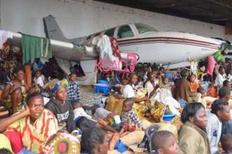 Centrafrique : Près dÂ'un million de déplacés dans le pays