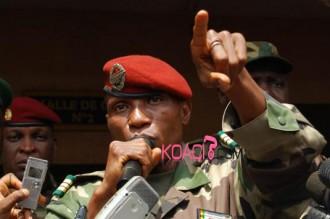 Guinée : Le capitaine Moussa Dadis Camara monte au créneau