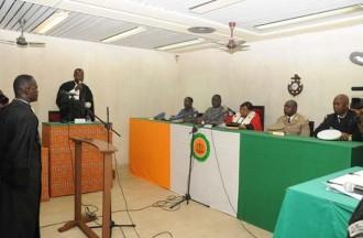 Côte dÂ'Ivoire : Des militaires condamnés pour avoir déserté en Â'Â'temps de paixÂ'Â'