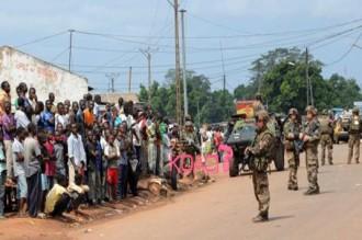 Centrafrique : Bangui renoue avec la violence : 7 morts