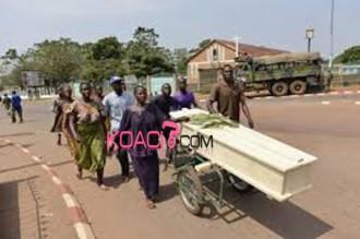 Centrafrique : Un charnier découvert à Bangui