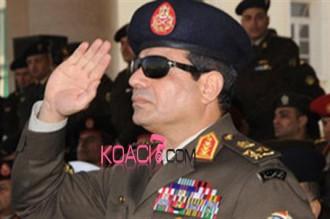 Egypte : Le général Al-Sissi promu Maréchal
