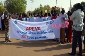 Niger : Le bras de fer avec Areva se prolonge, 5.000 employés au chômage technique