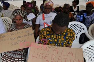 Côte dÂ'Ivoire : Manifestation de victimes de guerre Â'Â'oubliéesÂ'Â'