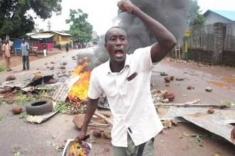 Guinée : Émeutes dans deux villes après la mort de 2 jeunes