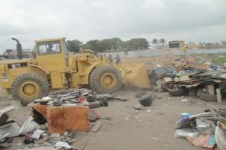 Côte dÂ'Ivoire : Déguerpissement dans le quartier dÂ'Anoumabo