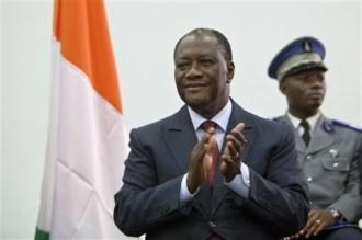 CI: Investiture de Ouattara: Déferlement de la population sur Yamoussoukro