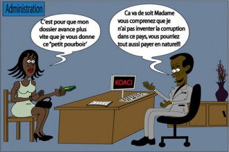 Indice de la corruption en Cote D'ivoire: L'offre et la demande