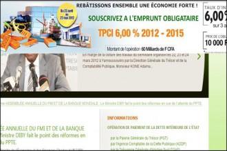 COTE D'IVOIRE : Lancement d'un nouvel emprunt obligataire