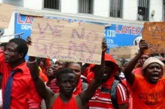 GHANA : Les étudiants refusent de payer les frais scolaires exorbitants