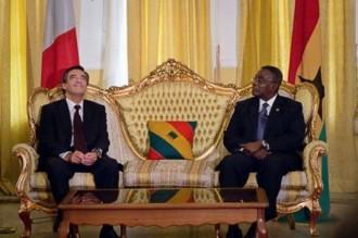 GHANA : La France sÂ'engage dans une relation prioritaire avec le Ghana