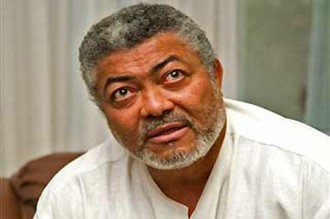 GHANA:  Présidentielle 2012, Rawlings prédit la défaite du NDC si Atta Mills gagne les primaires