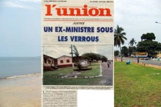 GABON: Un ex-ministre sous les verrous