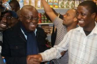 GHANA 2012:  Le candidat Nana Akufo Addo sauvé de justesse