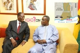GHANA: La Côte d'Ivoire remet en cause la frontière maritime ivoiro-ghanéenne