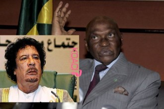 Un conflit s'installe entre Wade et Khadafi