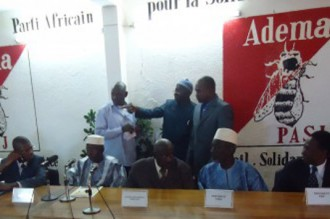MALI Présidentielle 2012: 20 partis politiques sÂ'allient à lÂ'ADEMA pour la victoire de Dioncounda Traoré