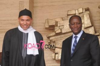 COTE D'IVOIRE-SENEGAL: Karim Wade depeché à la dernière minute par son père pour rencontrer Alassane Ouattara
