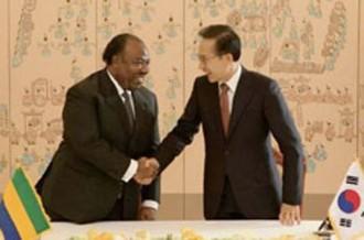 GABON: Ali Bongo à fond sur la Corée du Sud !