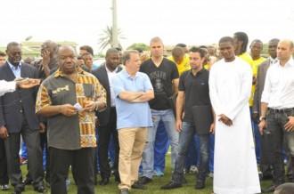 GABON : Ali Bongo inaugure la fondation Samuel EtoÂ'o