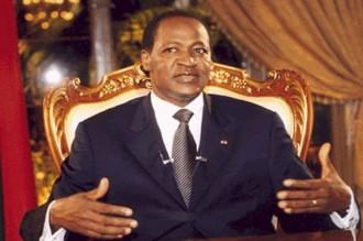 Blaise Compaoré au secours de la Guinée