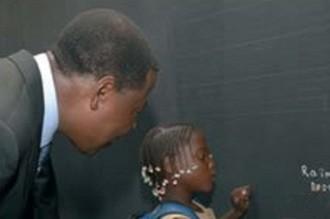 BENIN: Près de Cinquante ans après, lÂ'écolier Boni Yayi retrouve son maitre