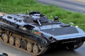 COTE D'IVOIRE: MYSTERE: un char des ex-fds refait surface!