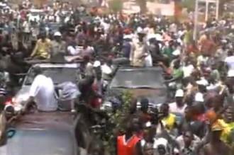 GUINÉE : Marche de l'opposition, une marrée humaine envahie lÂ'autoroute Fidel Castro