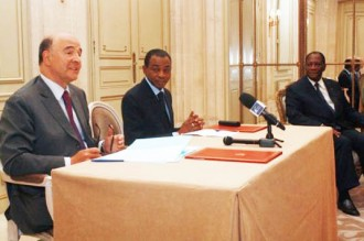 COTE D'IVOIRE : La France annule 3,76 milliards d'euros de la dette ivoirienne
