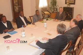 Dov Michel Zerah (AFD) chez Ouattara «La Côte d'Ivoire est de retour!»