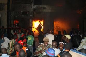 Effondrement dÂ'un immeuble - 5 morts dont 3 sapeurs pompiers