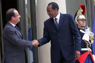 BURKINA FASO: Blaise Compaoré à lÂ'Élysée sur fond de crise malienne et d'affaire Loik le Floch Prigent