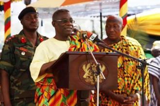 GHANA: Atta Mills: « Je rendrai une nation pacifique en 2017 »