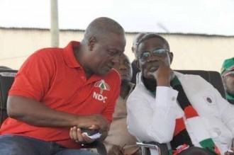 GHANA: Le NDC pansera t-il ses blessures avant les élections ?