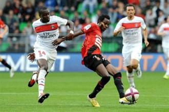 Le burkinabé Jonathan Pitroipa, nouvelle coqueluche de la L1 et de la Bretagne du foot