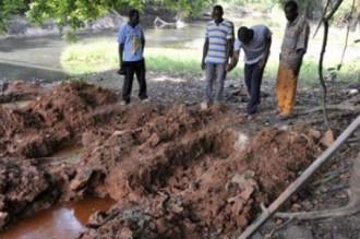 COTE D'IVOIRE: Ce n'était pas le corps de Kieffer !