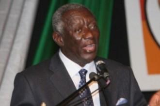 John Kufuor à Yamoussoukro pour l'investiture de Banny !