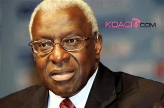 Le président de lÂ'Iaaf Lamine Diack candidat pour 2012