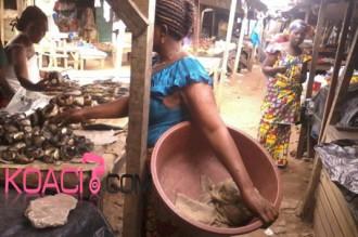 COTE D'IVOIRE : Dur, dur, dur.... pour la ménagère !