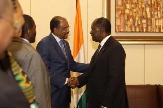 COTE D'IVOIRE: Ouattara reçoit l'onusida