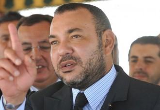 FRANCE : Le Roi du Maroc reçu à lÂ'Elysée par François Hollande