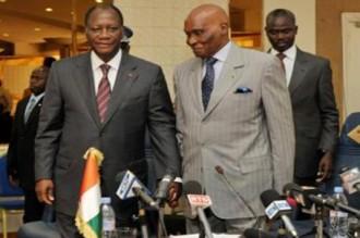 En visite à Dakar: Ouattara offre 10 millions à la communauté ivoirienne
