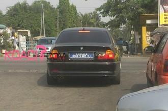 COTE D'IVOIRE: Ces noms qui remplacent les plaques d'immatriculation !