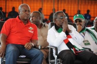 GHANA 2012: Une prière dÂ'Atta Mills crée lÂ'insomnie dans lÂ'opposition