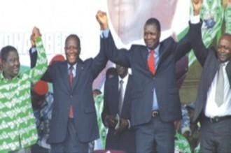 Présidentielle  houphouétistes, parti unique, canditature unique