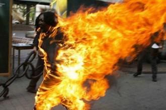 Restés des mois sans salaire: Des membres de la cellule de la Présidence menacent de sÂ'immoler par le feu!