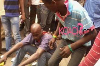 COTE D'IVOIRE: Pour avoir savouré la défaite des éléphants, ils ont été tabassés !