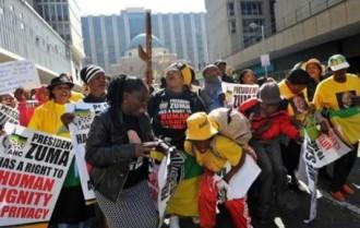 AFRIQUE DU SUD : L'ANC retire sa plainte visant le portrait «sexuel» de Zuma