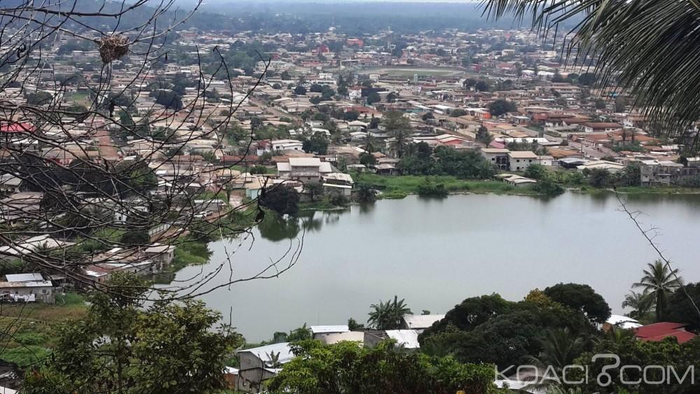 Gabon:  Le mystérieux lac qui menace d'engloutir Nzeng-Ayong